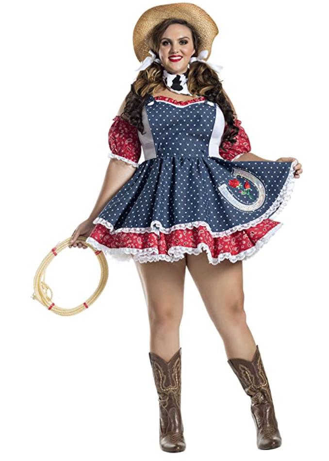 Plus Size Cowgirl Costume