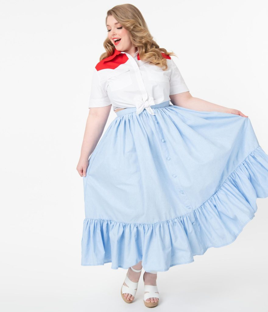 plus size cowgirl outfit