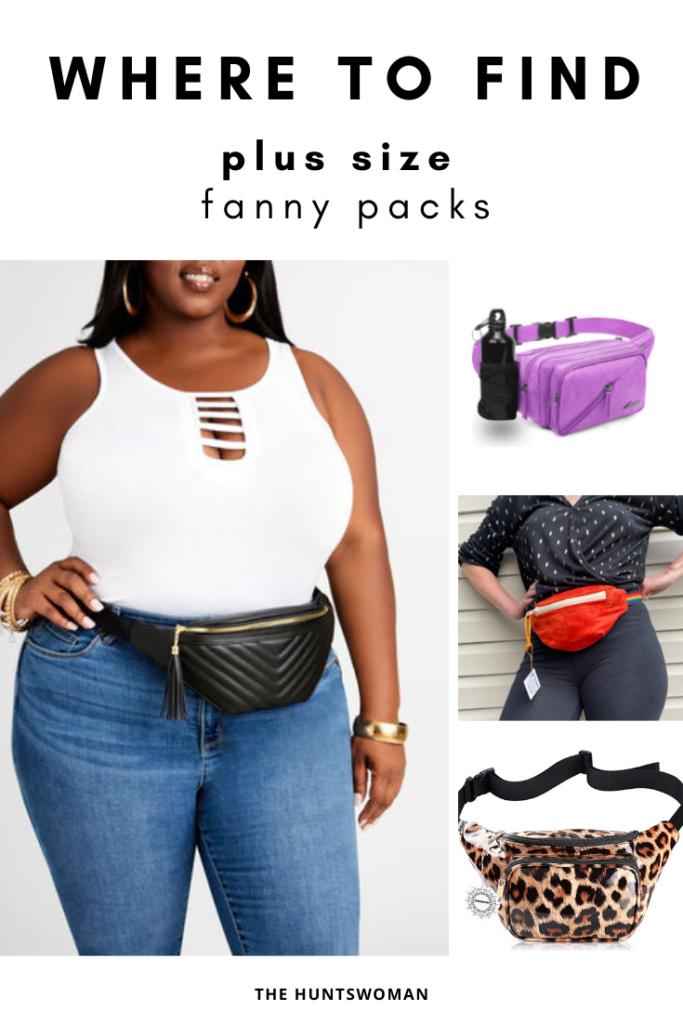 Plus Size Fanny Pack
