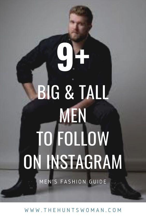Plus Size Male Model