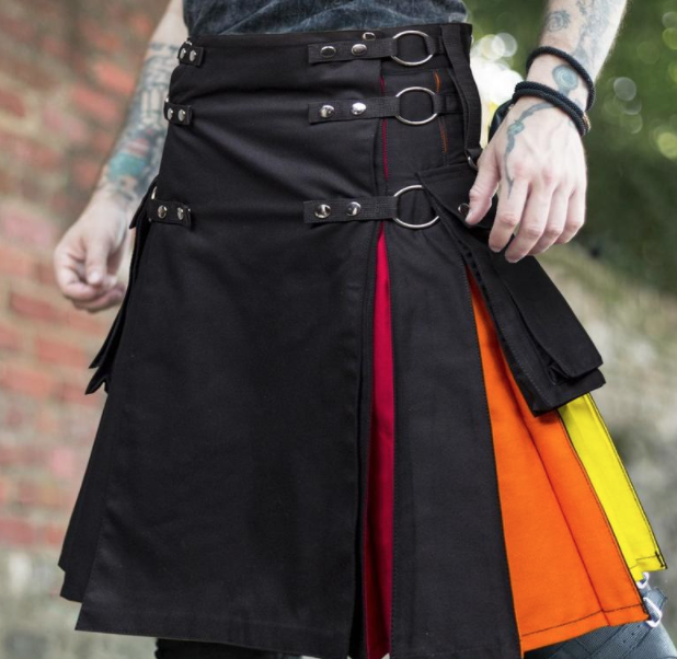 plus size pride outfit for men