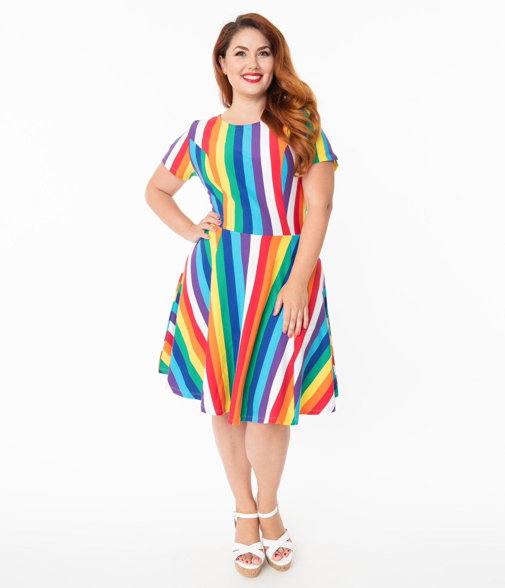 plus size pride outfit