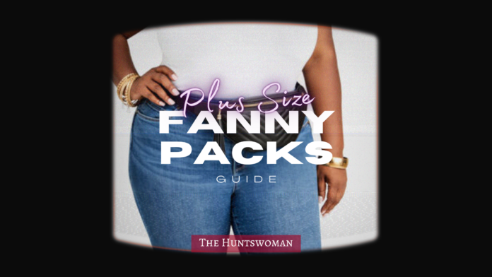where to shop for plus size fanny packs