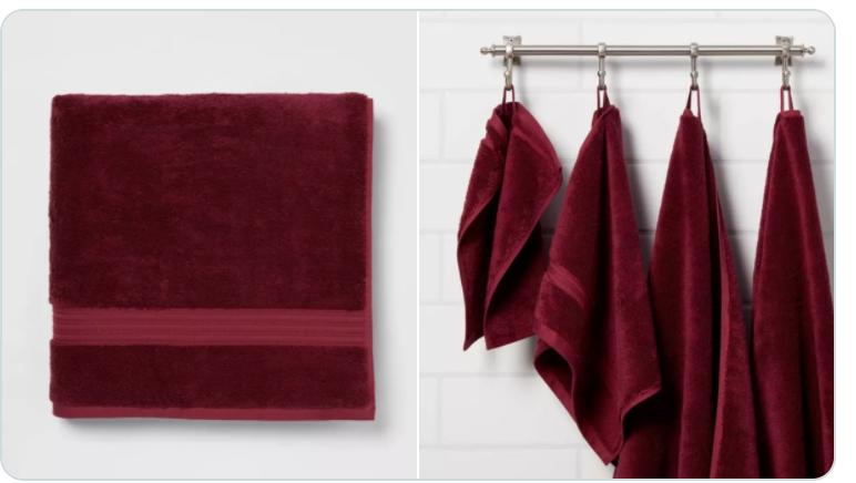 New Apartment Checklist: Extra Long Bathroom Towels