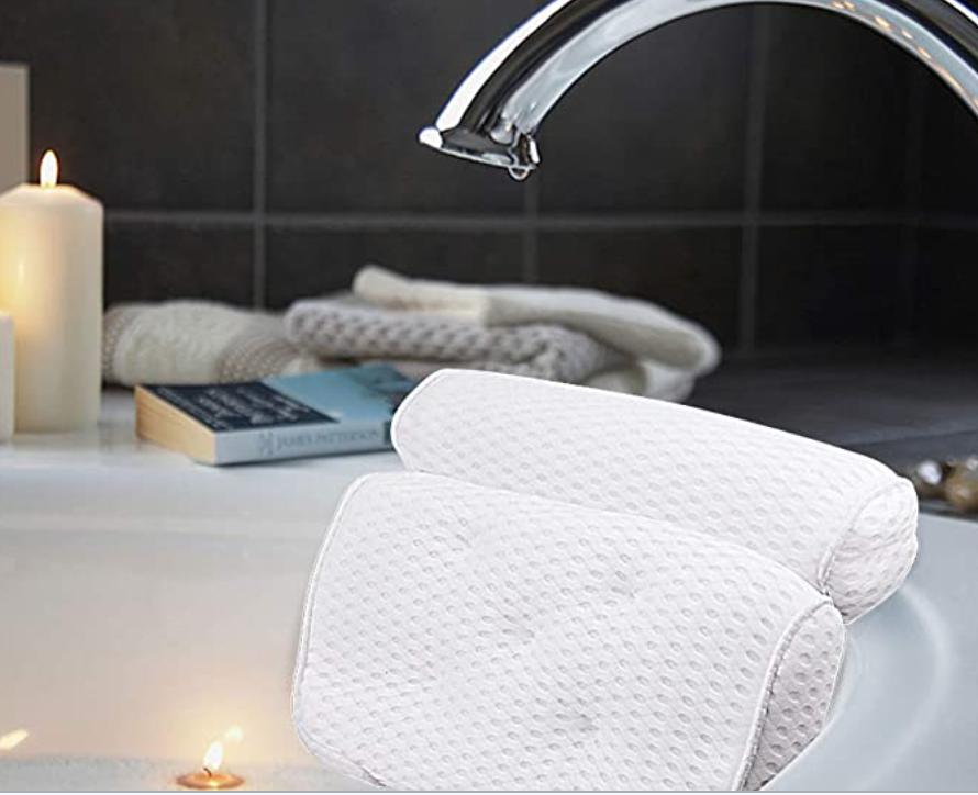 New Apartment Checklist: Bathtub Pillow