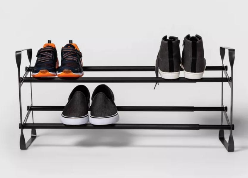 New Apartment Checklist: Shoe Racks