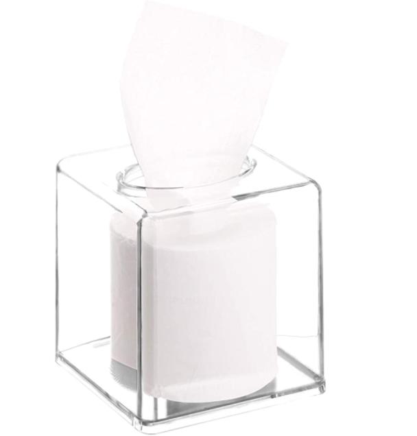 New Apartment Checklist: Acrylic Tissue Box