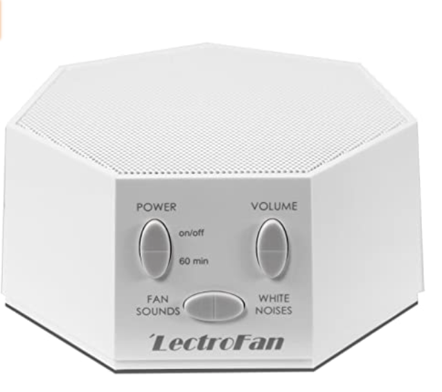 New Apartment Checklist: White Noise Machine