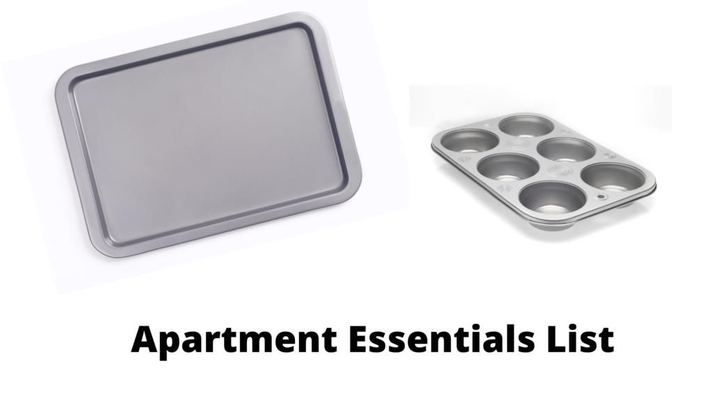 #45:  New Apartment Checklist: Baking Sheets & Pizza Pan