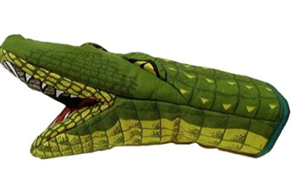 New Apartment Checklist:  Sassy Alligator Oven Mitt
