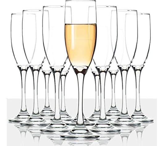 New Apartment Checklist  - Champagne Glasses
