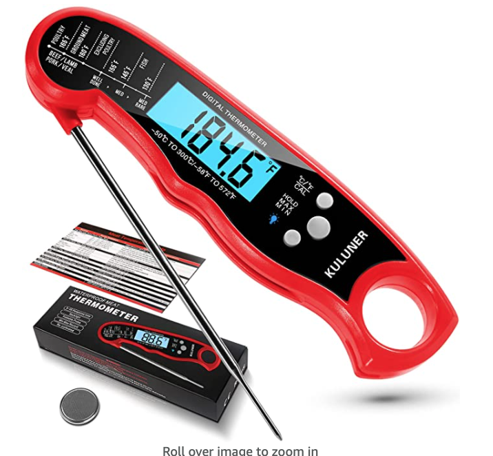 New Apartment Checklist: Meat Thermometer ($17)