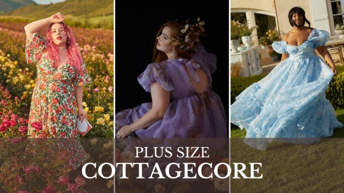 plus size cottagecore