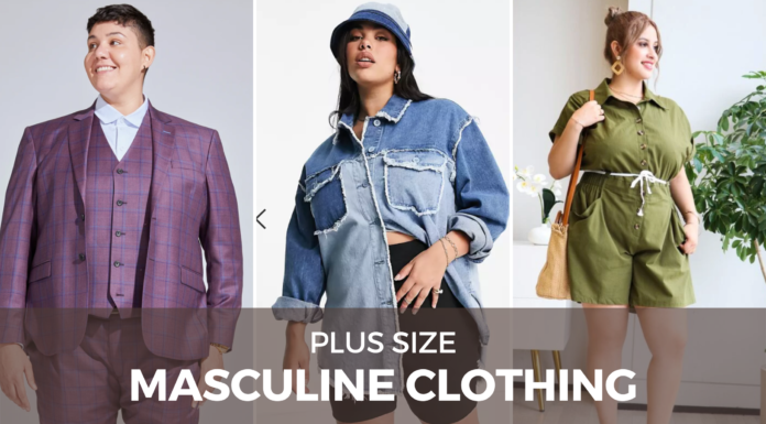 plus size masculine outfits