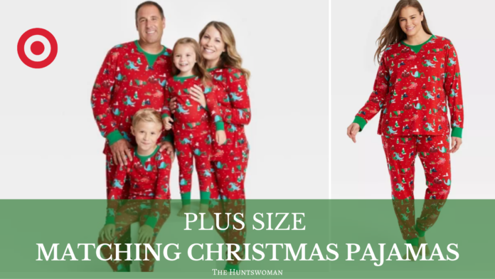 Matching Christmas Pajamas for Family in Plus Size
