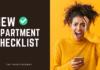 new apartment checklist