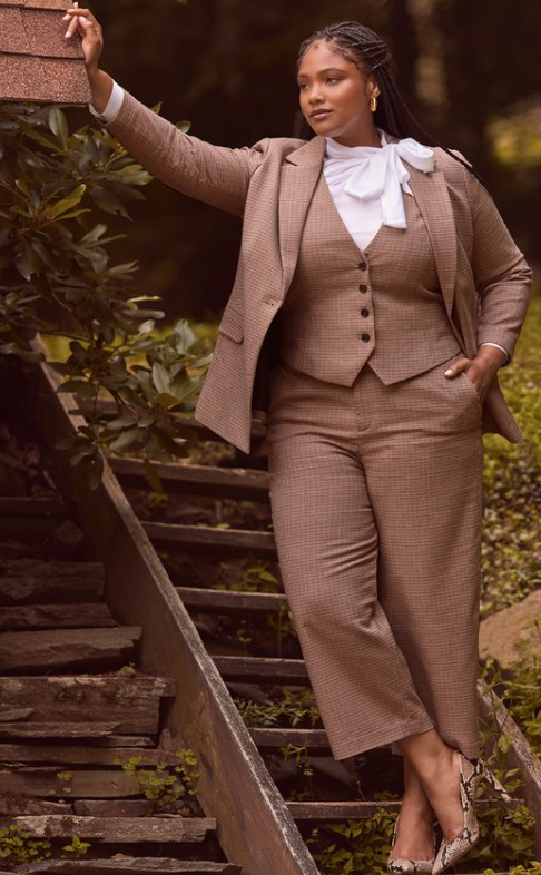 plus size masculine outfit