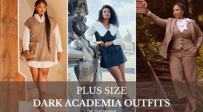 Plus Size Dark Academia outfits
