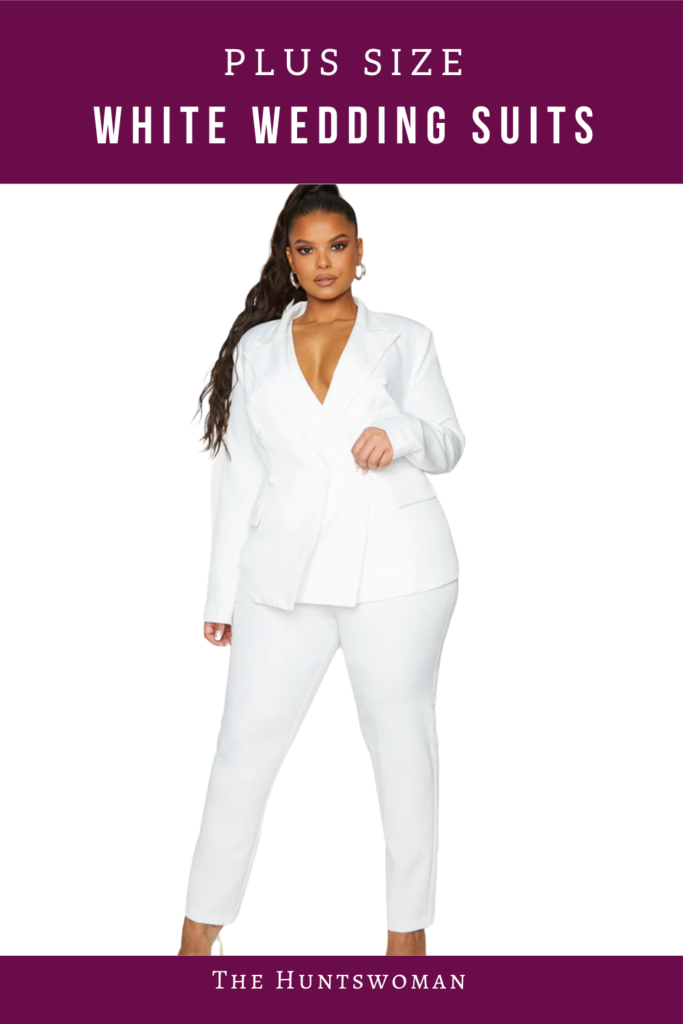 plus size white wedding suit shopping guide