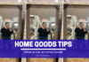 What to Get At Home Goods - New Apartment Guide