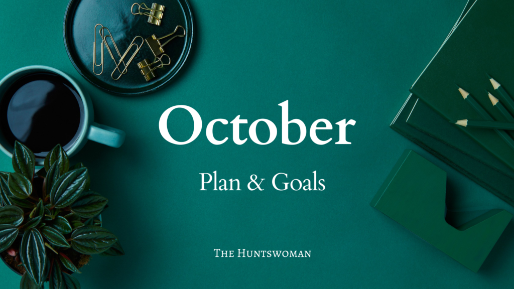 blog income report - plan for oct 2021