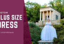 custom plus size dress