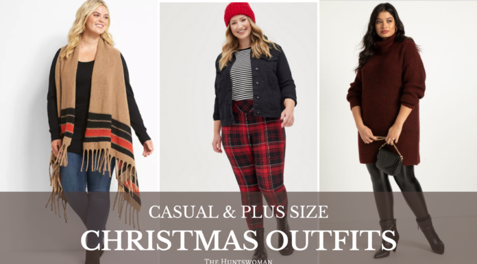 plus size christmas outfits casual