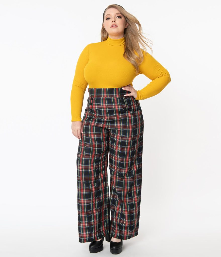 plus size winter outfit - unique vintage